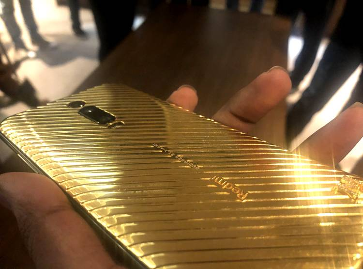 special gold-diamond edition
