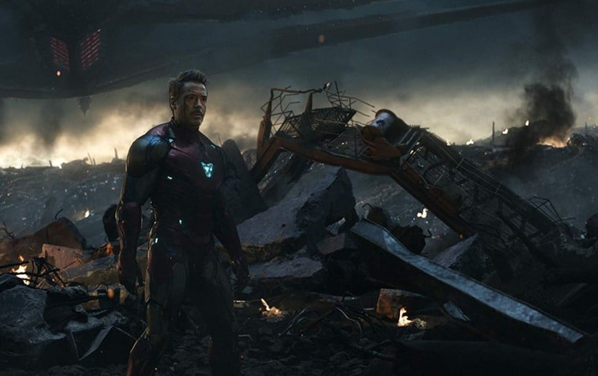 "Shot from the movie ""Avengers: Final"""